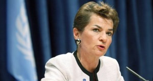 Worrisome atmospheric CO2 christiana figueres