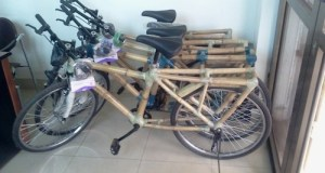 Ghana Bamboo bikes  UN decorates outstanding environment-friendly initiatives Ghana Bamboo bikes