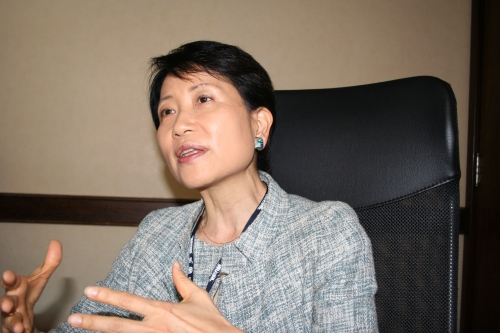 Naoko Ishii, CEO and Chairperson of the GEF