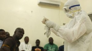 Ebola virus spreading too fast  Ebola Virus: Nigerian nurse dead, six others infected Ebola virus spreading too fast 300x168