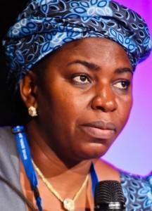 Minister of Water Resources Mrs. Sarah Reng Ochekpe