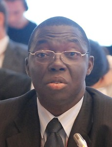 Dr. Samuel Adejuwon, Director, Climate Change Department in the FME
