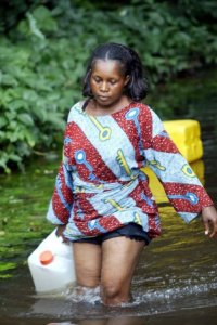 In the search for potable water  Ogoni women: How oil exploration, pollution threaten our existence Women 200x300