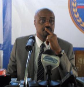 Guinean government spokesman, Damantang Albert Camara