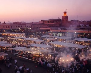 Marrakesh in Morocco, the conference venue  Climate change: Can Africa feed Africa? marrakesh 300x240
