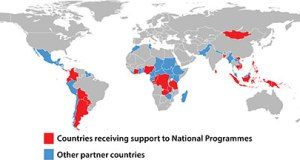 African nations, others prepare for REDD+ website map updated November 2012 3