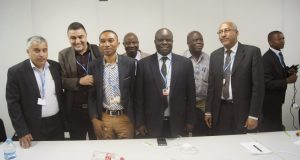 AG7  Civil Society's visit to African Group at COP 20 in photos AG7