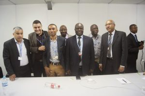 Delegates at the close of the meeting  Civil Society's visit to African Group at COP 20 in photos AG7 300x199