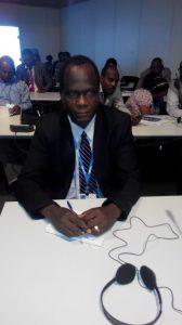 Prof. Daniel Gwary of the University of Maiduguri