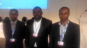 Yankuzo Bello Sani (Senior Scientific Officer) (left), Umegbo Chukwunonso Douglas (Scientific Officer) (middle) and Ibeneme Sylvester Uchechukwu (Senior Scientific Officer)