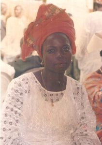 Late Mrs Folake Oduyoye, before her illness