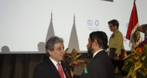 Lima COP 20 opening ceremony in pictures Pres with Pachau