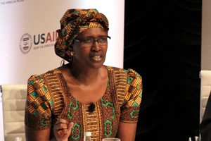 Winnie Byanyima, Executive Director of Oxfam International. Photo credit: usaid.gov