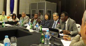 Dignitaries at the Stakeholders meeting