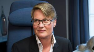 Norway's climate and environment minister, Tine Sundtoft. Photo credit: www.regjeringen.no  Norway submits climate action plan, targets 2030 Tine Sundtoft 300x168