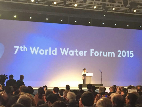 A session during the 7th World Water Forum 2015. Photo credit: flickr.com