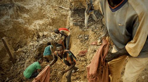 Illegal gold mining. Photo credit: thewillnigeria.com