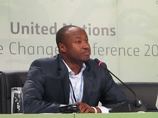 Seyni Nafo. spokesperson of the Africa Group of Negotiators. Photo credit: journaldumali.com  'Africa must prepare for possible alteration of climate negotiating text' seyni