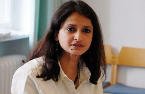 Anuradha Mittal, Executive Director of the Oakland Institute. Photo credit: tamildiplomat.com