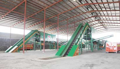 The MRF facility. Photo credit: vanguardngr.com  Reducing carbon footprint through resource recovery MRF facility
