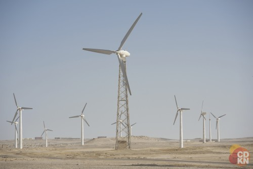 Wind turbines in Egypt. Photo credit: CDKN  Renewable energy: Africa's billions might be buried forever Wind turbines in Egypt photo CDKN e1436509153783