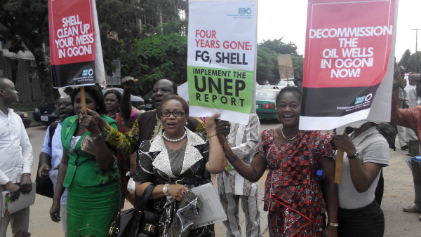 The women take the centre stage...  Photos: ERA/FoEN seeks implementation of Ogoniland UNEP report IMG 20150804 175348 e1438754797821