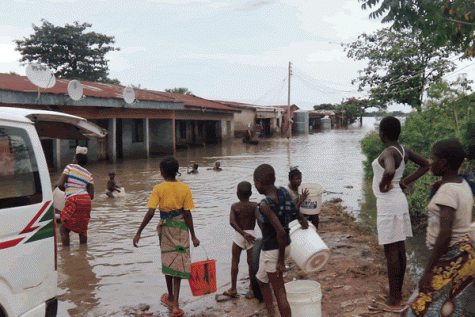 Markudi  Makurdi records first rainfall in 2018 Markudi