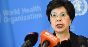 SWITZERLAND-HEALTH-EBOLA-WAFRICA-WHO  70th World Health Assembly: Delegates agree on dementia, immunisation, others Dr Margaret Chan Director General WHO