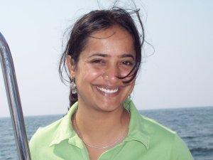 Vinuta Gopal, the interim co-executive director of Greenpeace India. Photo credit: twitter.com