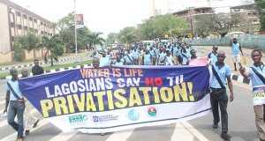 water  Lagos urged to shift stand on water privatisation water