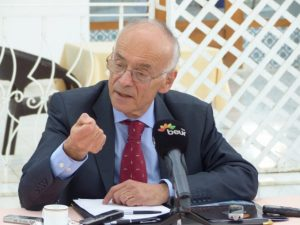 Stephane Gompertz, France's Ambassador for Climate Change  French envoy laments Nigeria's inability to submit INDC French 300x225
