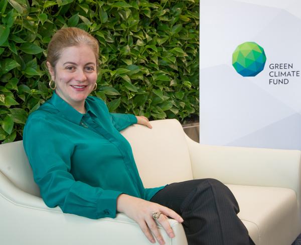 Outgoing GCF executive director Hela Cheikhrouhou. Photo credit: news.gcfund.org   GCF approves $250m projects, set for leadership change GCF Executive Hela Cheikhrouhou orig