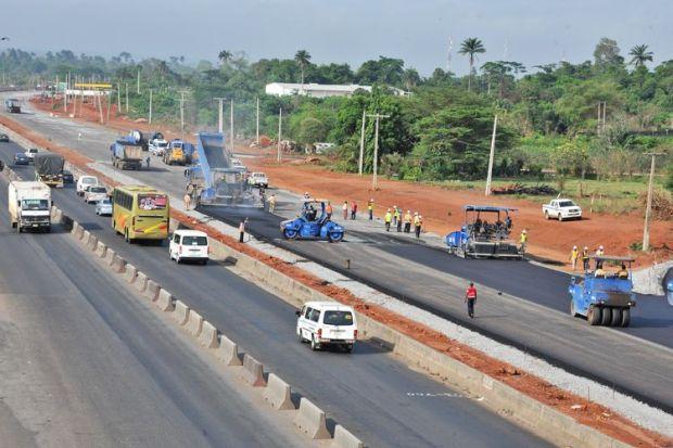 The Lagos-Ibadan Expressway. Photo credit: .naijaloaded.com.ng
