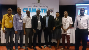 Some of the journalists from Africa who attended this two-day event in India