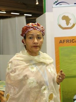 Environment Minister, Mrs Amina J. Mohammed  Sowing the seeds of Africa's success Buhari11