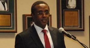 Dr. Vincent Biruta  Fresh initiatives to restore degraded African land emerge Dr