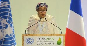 Hon. Minister of Environment  Amina Mohammed, Nigeria's Environment Minister, is UN Deputy Secretary-General Hon