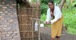 Mitress Januwale  Malawian communities seek to end open defecation januale