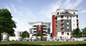 estate  'Simeon Court' makes a debut at highbrow Oniru Estate in Lagos CAM 1