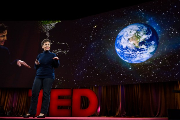 Christiana Figueres. Photo credit: Bret Hartman / TED