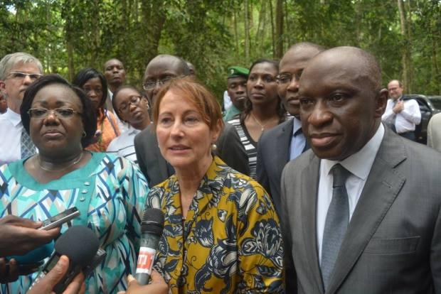 Royal with senior government officials  Photos: Ségolène Royal visits Côte d'Ivoire 12771870 1078578012204486 6972112849922518888 o