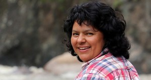 Berta Caceres  Grassroots leaders, in People's Caravan, to demand action, justice Berta Caceres 770x470 1