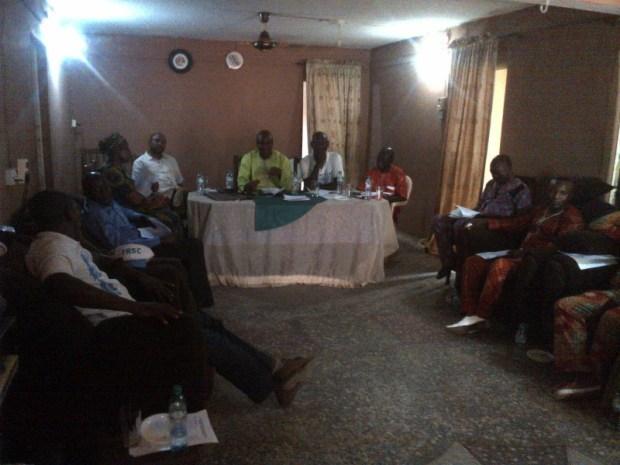 Earth Hour celebration in Cotonou, Benin Republic