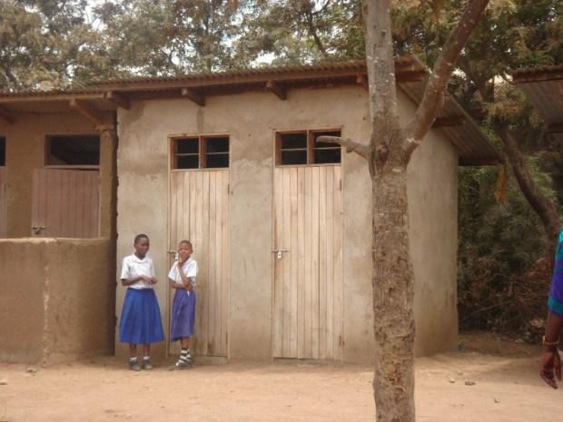 A school toilet for girls  IWD 2016: Hygienic toilets will keep girls in school, says WaterAid School toilet for girls in Tanzania 6880181036 e1457385180758