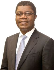 Thierry Zomahoun, NEF Chairperson and President and CEO of the African Institute for Mathematical Sciences (AIMS)