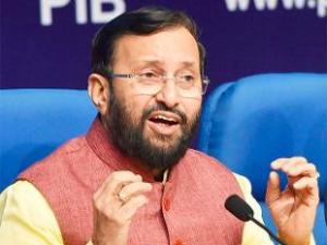 Indian Environment Minister, Prakash Javadekar