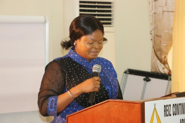 Adejoke Orelope-Adefulire  Reliable data, key to SDGs implementation – Presidential aide Senior Special Assistant to the President on Sustainable Development Goals SSAP SDGs Her Excellency Princess Adejoke Orelope Adefulire at the SDGs retreat in Abuja 1 e1459786088932