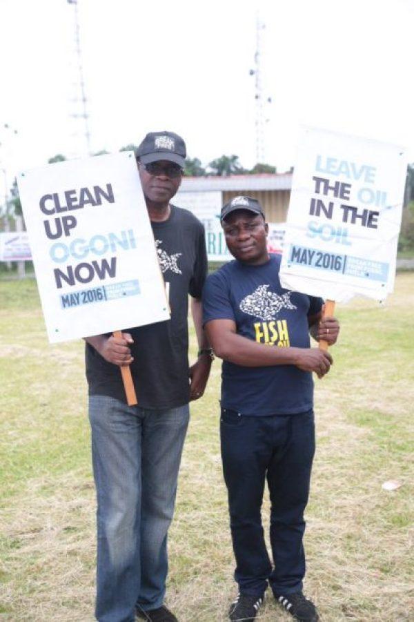 Free2  Break Free train in Ogoni – Silence is treason! Free2