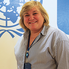 Director of UN Women's Programme Division, Maria Noel Vaeza  Women key agents for tackling climate change MarieNoelle Voices 240px