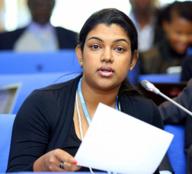 Vositha Wijenayake, Policy and Advocacy Coordinator for Climate Action Network South Asia  Reactions trail closing Bonn climate negotiations Vositha Wijenayake e1464285291716